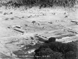 1923 aerial view of fort, Fort Davis, Texas