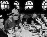 1937 luncheon by the Battle of Flowers Association